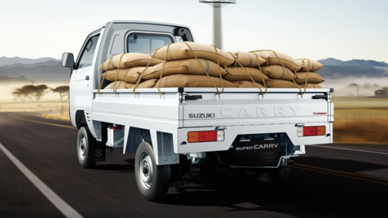 Suzuki Super Carry 2018 load capacity