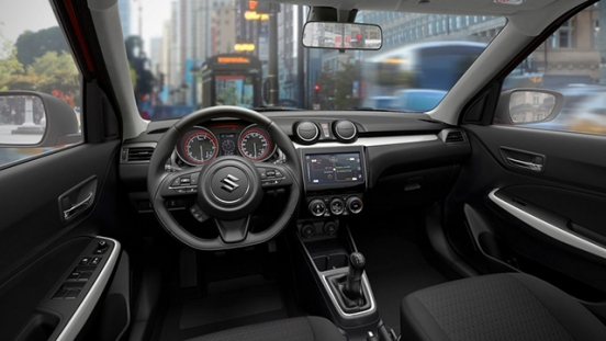 Suzuki Swift 2018 dashboard
