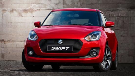 Suzuki Swift 2018 fascia