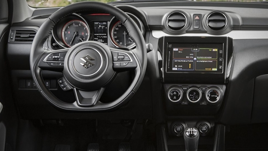 Suzuki Swift 2018 steering wheel