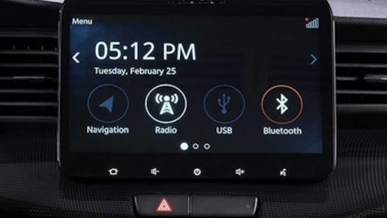 Suzuki XL7 Philippines Interior infotainment system