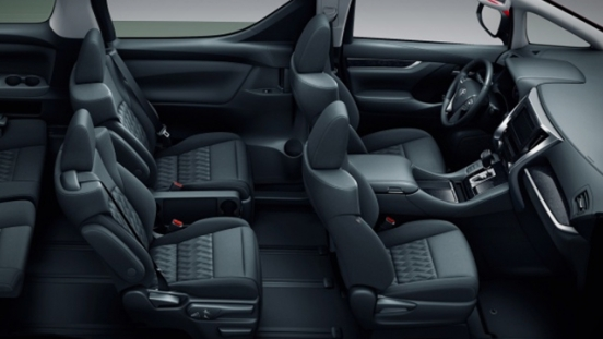 Toyota Alphard 2018 interior