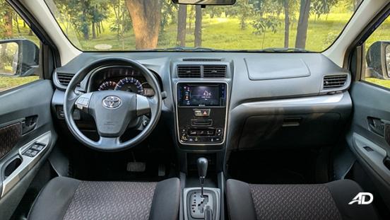 toyota avanza road test dashboard interior philippines