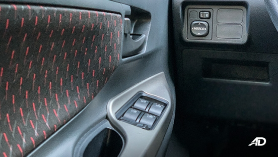 toyota avanza road test door controls interior