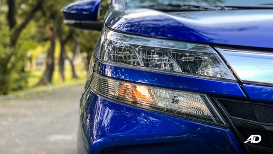 toyota avanza road test headlights exterior philippines review