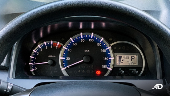 toyota avanza road test instrument cluster philippines interior
