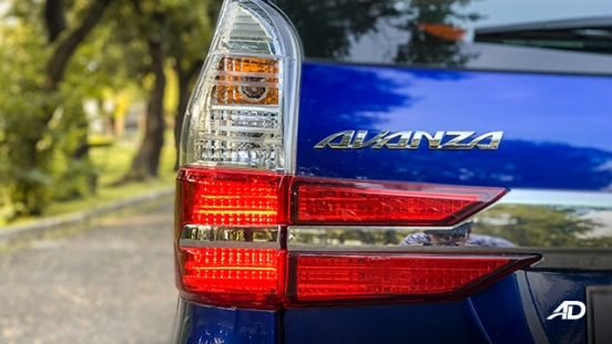 toyota avanza road test taillights exterior philippines