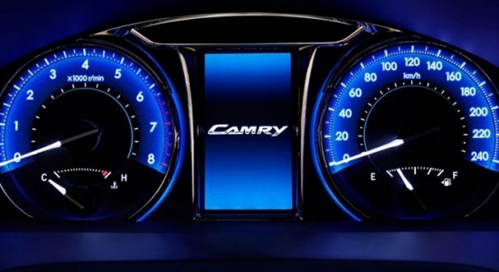 Toyota Camry 2018 Philippines Interior 1