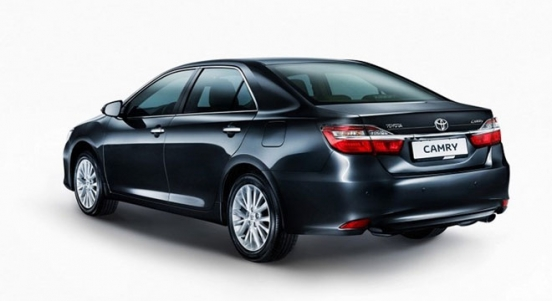 Toyota Camry 2018 Philippines Rear