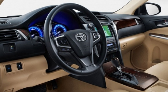 Toyota Camry 2018 Philippines Steering Wheel