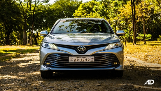 toyota camry review road test front exterior philippines