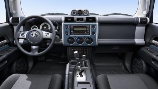 Toyota FJ Cruiser 2018 Philippines Interior