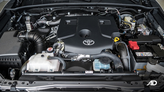 toyota fortuner road test diesel engine philippines