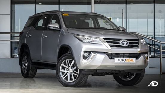 2020 Toyota Fortuner Price List Monthly Philippines Autodeal