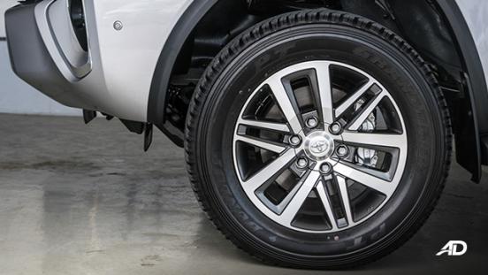 toyota fortuner road test wheels exterior