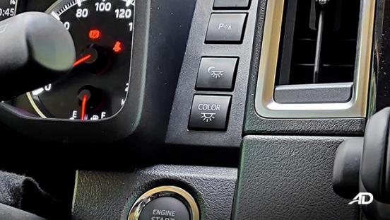 toyota hiace super grandia review road test dashboard panel interior