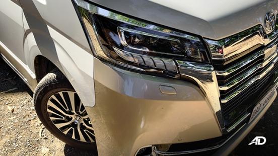toyota hiace super grandia review road test fascia exterior