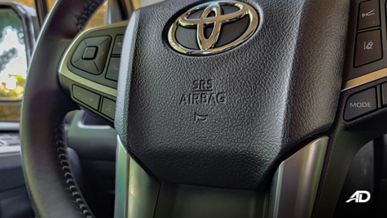 toyota hiace super grandia review road test steering wheel interior philippines