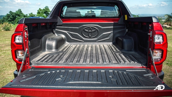 Toyota HIlux Conquest road test bed