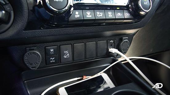 Toyota HIlux Conquest road test controls
