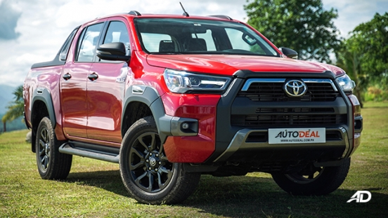 Toyota HIlux Conquest road test emotional red