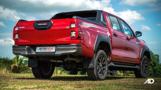 Toyota HIlux Conquest road test rear quarter