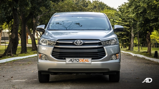 toyota innova road test review front exterior philippines