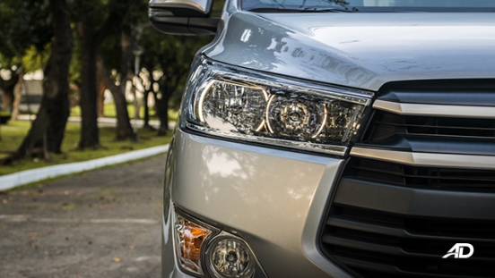 toyota innova road test review headlights exterior philippines