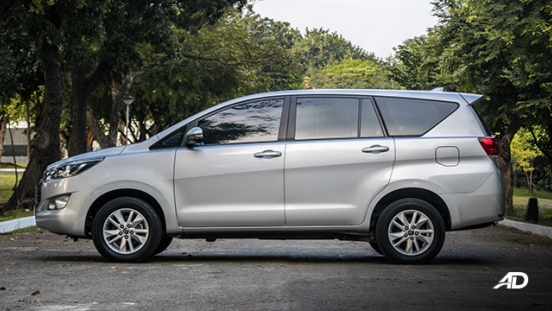 toyota innova road test review side view exterior