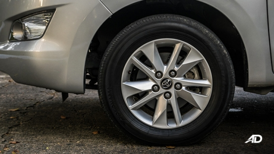 toyota innova road test review wheels exterior