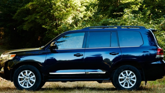 Toyota Land Cruiser 200 Philippines 2018 Side