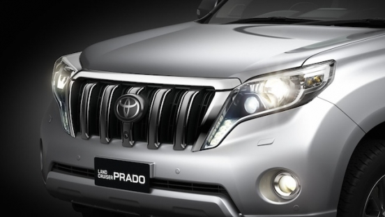 Toyota Land Cruiser Prado 2018 Philippines Headlamp