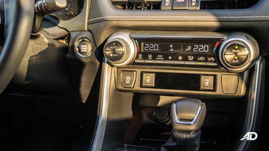 toyota rav4 road test review climate control interior