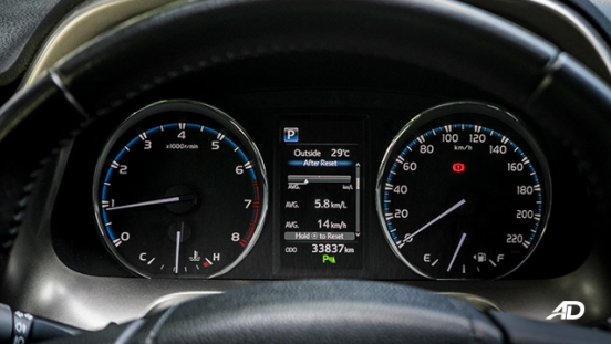 toyota rav4 road test review instrument cluster interior philippines