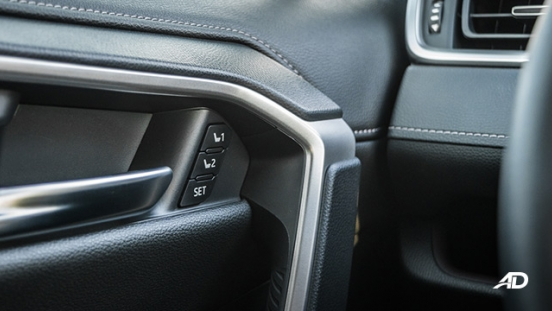 toyota rav4 road test review memory seats interior