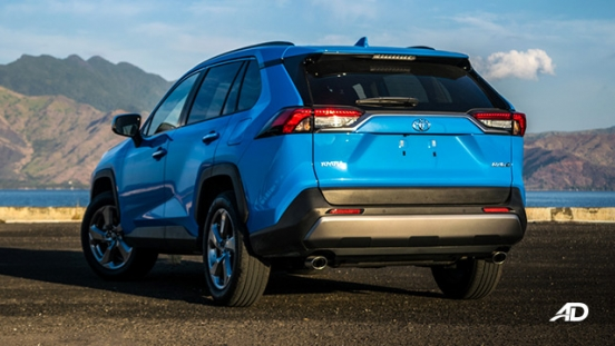 toyota rav4 road test review rear quarter exterior philippines