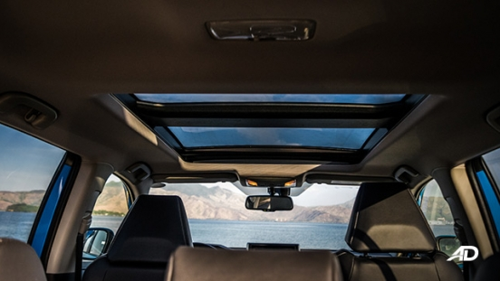 toyota rav4 road test review sunroof interior