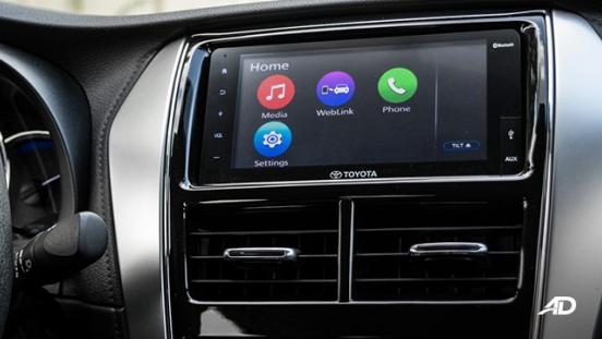 Toyota Vios 1.3 E Prime road test infotainment