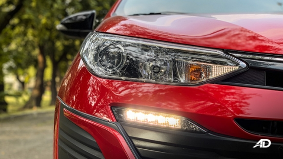 toyota vios 1.5 g prime road test headlights exterior
