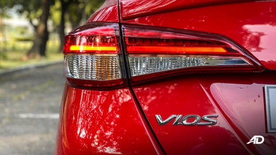 toyota vios 1.5 g prime road test taillights exterior philippines