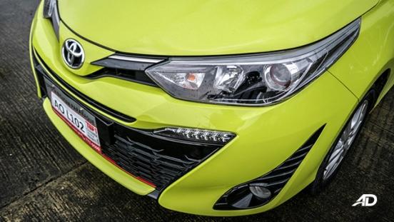 toyota yaris road test review fascia exterior