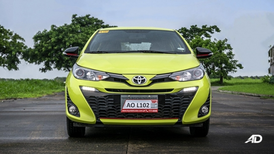 toyota yaris road test review front exterior philippines
