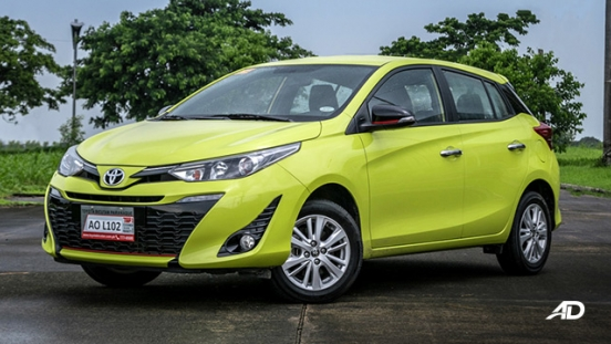 toyota yaris road test review front quarter exterior