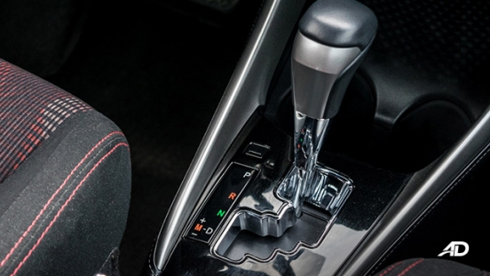toyota yaris road test review gear lever interior philippines