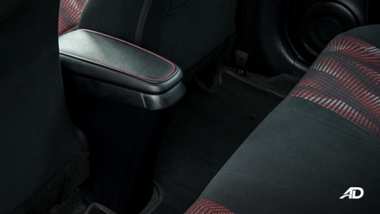 toyota yaris road test review rear cabin interior philippines