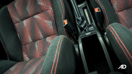 toyota yaris road test review seats interior