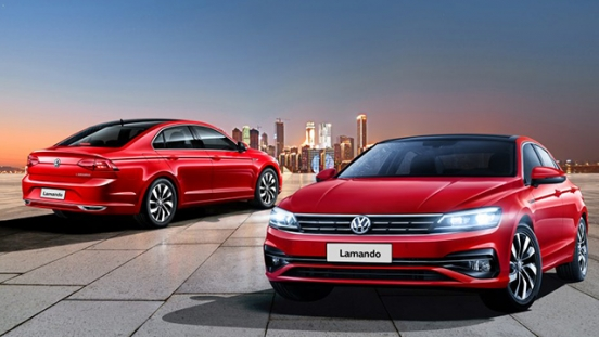 Volkswagen Lamando 2018 front and rear