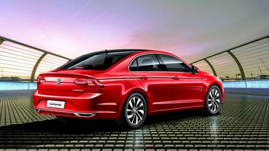 Volkswagen Lamando 2018 rear