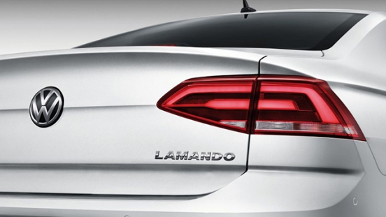 Volkswagen Lamando 2018 taillight