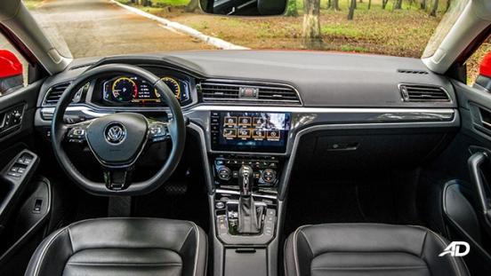 volkswagen lamando review road test dashboard interior philippines